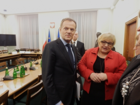 Fornalczyk i Tusk